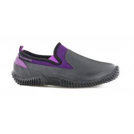 Chaussures de jardin néoprène violet