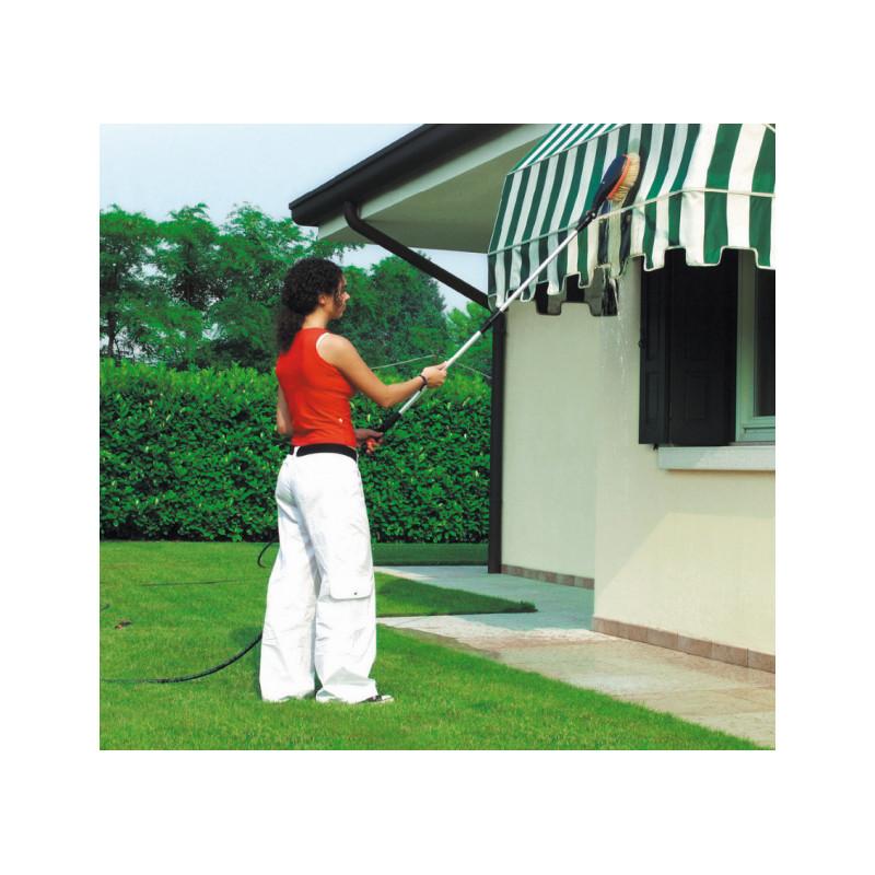 Brosse de nettoyage rotative pour terrasse ou voiture - Nettoyage de terrasse en bois ...