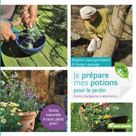 Je prépare mes potions pour le jardin