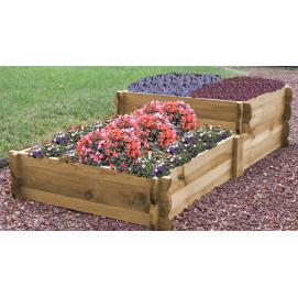 acheter un maxi rectangle potager en bois de jardin et saisons. Black Bedroom Furniture Sets. Home Design Ideas