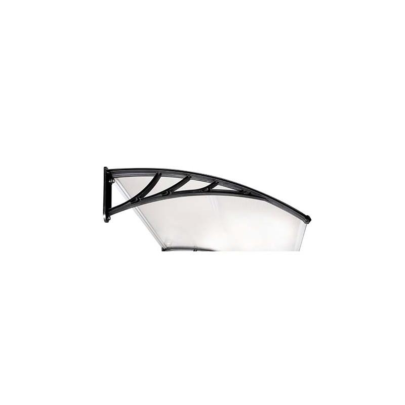 marquise auvent de porte d 39 entr e en polycarbonate de jardin et saisons. Black Bedroom Furniture Sets. Home Design Ideas