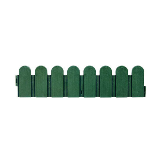 bordure de jardin verte pvc type cloture jardin et saisons. Black Bedroom Furniture Sets. Home Design Ideas