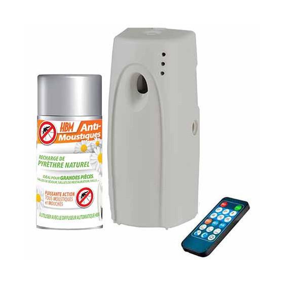 diffuseur anti moustique int rieur avec recharge au pyr thre naturel. Black Bedroom Furniture Sets. Home Design Ideas