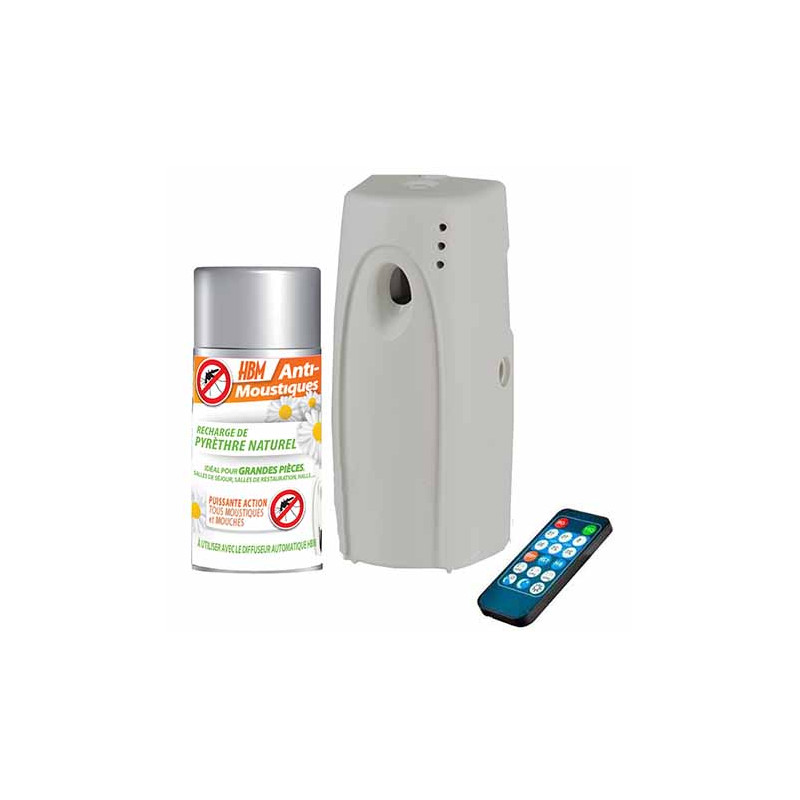 Diffuseur anti moustique int rieur avec recharge au for Anti moustique naturel maison