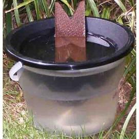 Piège anti larve de moustique écologique