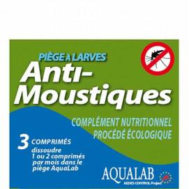 Recharge pour piège anti larve de moustique