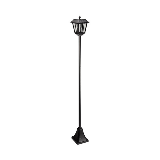 lampadaire ext rieur solaire led 1 70 m jardin et saisons. Black Bedroom Furniture Sets. Home Design Ideas