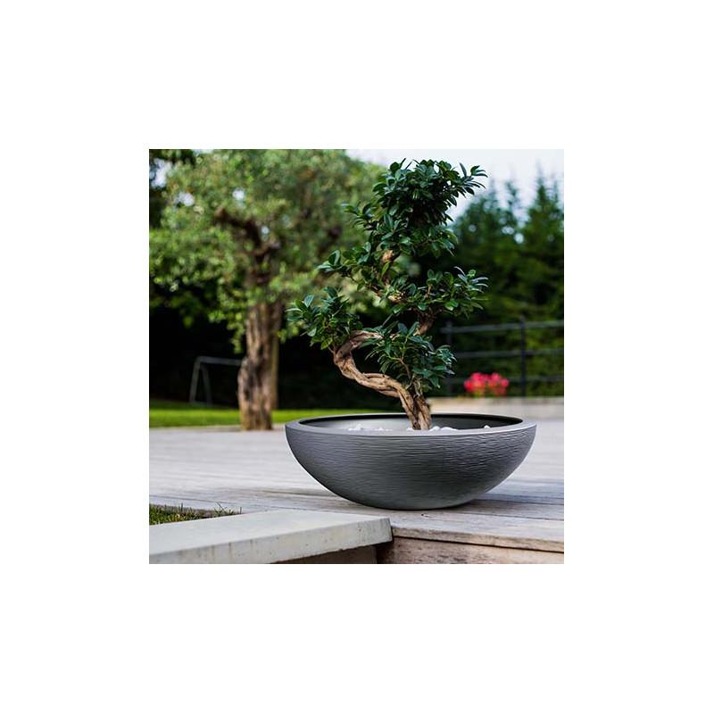 Votre vasque à fleurs 39L gris anthracite chez Jardin et Saisons