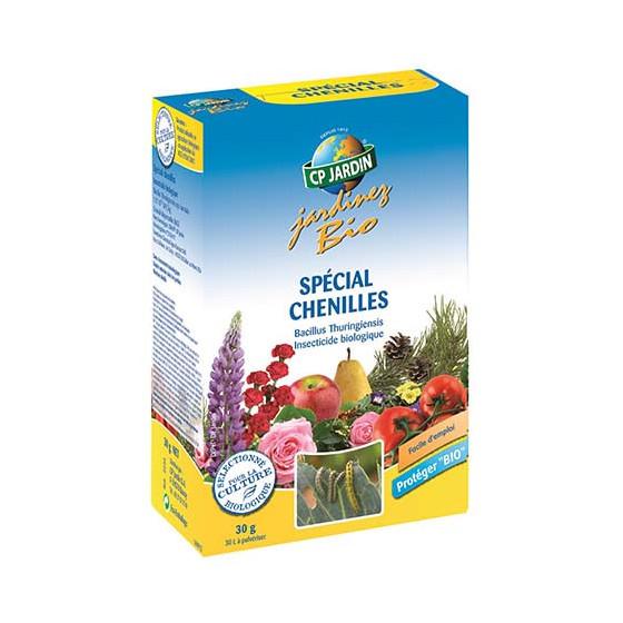 Traitement sp cial chenille 30 g en poudre jardin et saisons - Traitement contre les chenilles ...