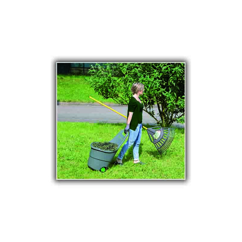 Chariot brouette de jardin 48 litres jardin et saisons for Brouette jardin