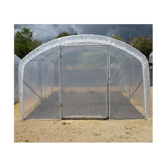 votre serre tunnel de jardin pied droit 2 portes jardin et saisons. Black Bedroom Furniture Sets. Home Design Ideas