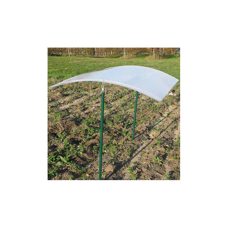 Abri tomates avec toit en polycarbonate jardin et saisons - Fabriquer serre de jardin polycarbonate ...