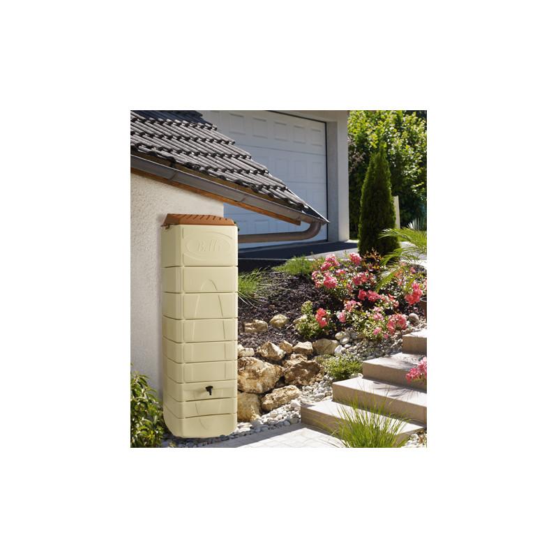 r cup rateur d 39 eau de pluie murale 650 litres jardin et. Black Bedroom Furniture Sets. Home Design Ideas