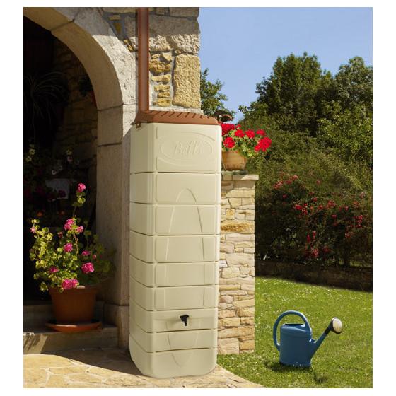 r cup rateur d 39 eau de pluie murale 650 litres jardin et saisons. Black Bedroom Furniture Sets. Home Design Ideas
