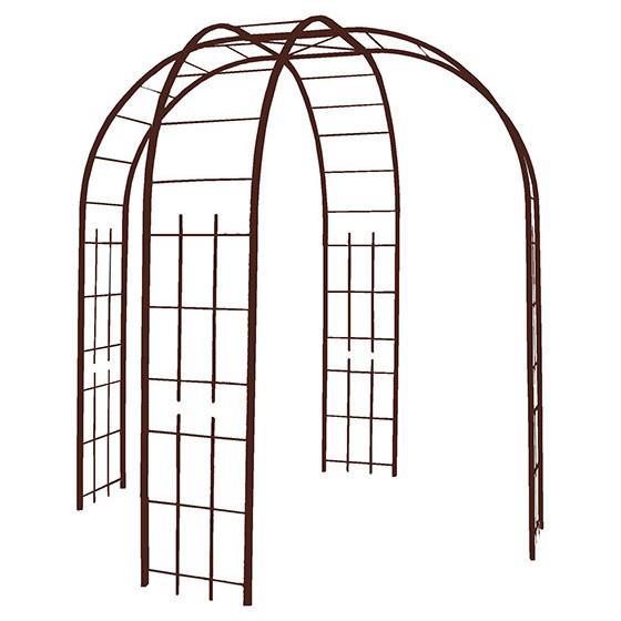votre gloriette de jardin en acier fer vieilli chez jardin et saisons. Black Bedroom Furniture Sets. Home Design Ideas