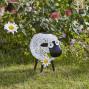 Mouton décoratif solaire en métal