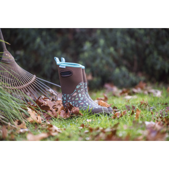 Demi bottes en caoutchouc jardin et saisons for Jardinetsaisons