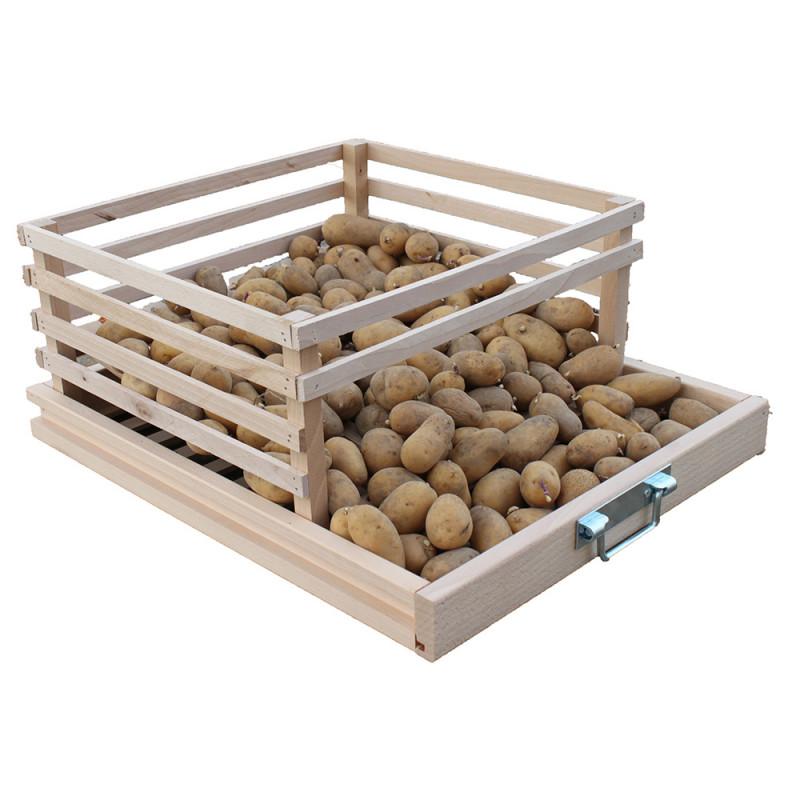Tiroir suppl mentaire r serve pomme de terre jardin et saisons - Ramassage pomme de terre ...