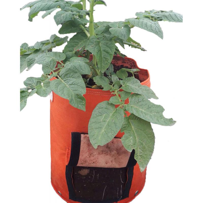 Sac plantation 40 litres orange pour pomme de terre - Date plantation pomme de terre ...