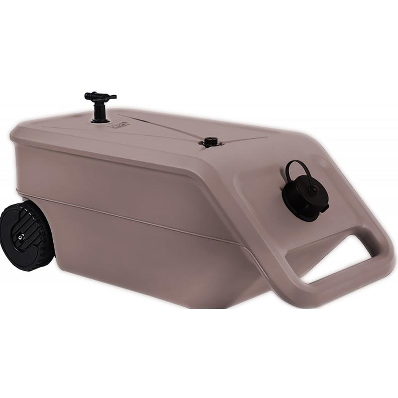 le r servoir d 39 eau nomade 2 roues 55 litres par jardin et saisons. Black Bedroom Furniture Sets. Home Design Ideas