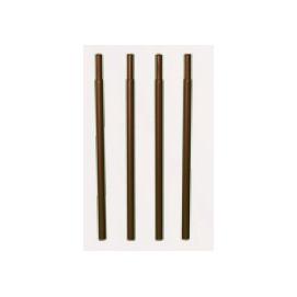 Rallonge tube rond fer vieilli arche de jardin (les 4)