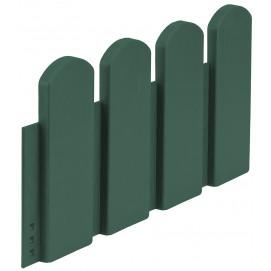 Bordurette de jardin ornementale vert H 20 cm