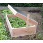 Châssis de jardin en bois type nantais