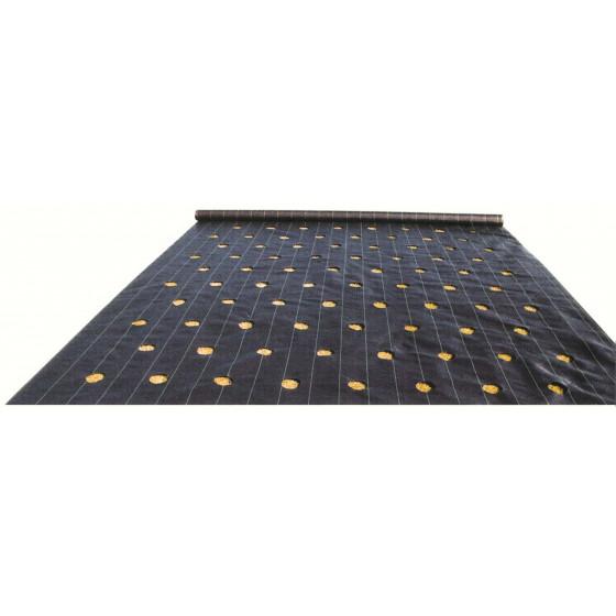 Toile de paillage perforée en largeur de 1,65 m