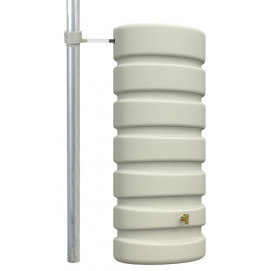 Récupérateur d'eau de pluie mural classic 650 L sable