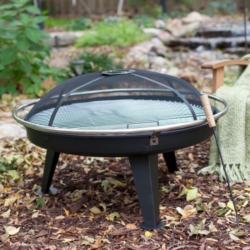votre brasero de jardin avec grille de cuisson sign jardin et saisons. Black Bedroom Furniture Sets. Home Design Ideas