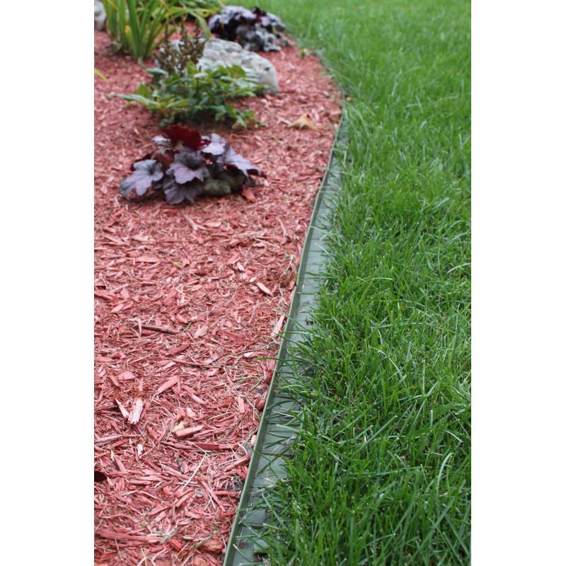 Bordure de gazon en plastique - Bordure de jardin special tondeuse ...