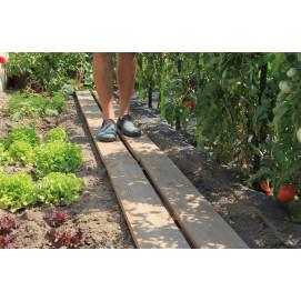 Chemin potager en bois douglas 30 x 130 cm