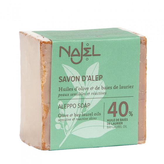 Savon d'Alep 40 % huile de laurier 200 g
