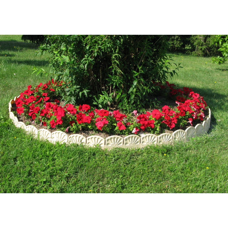Bordure d corative de jardin ton pierre - Pierre decorative jardin ...