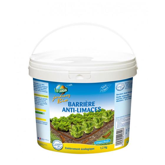 Granulés de lave barrière anti limaces seau 1,2 kg
