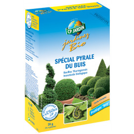 Insecticide pyrale du buis naturel 20 g