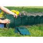 Bordure décorative de jardin verte