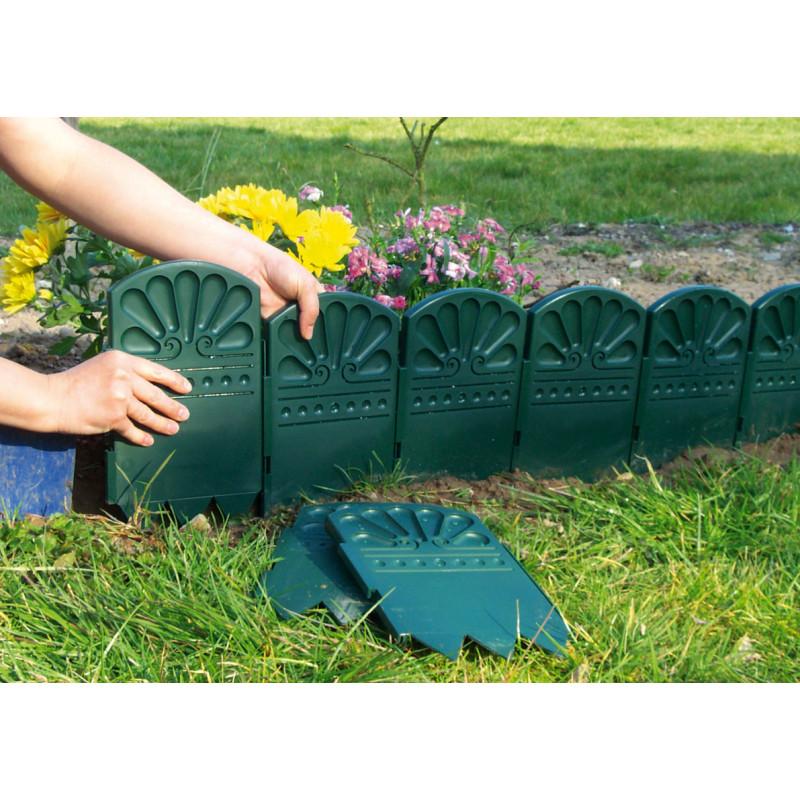 Choisissez une bordure d corative de jardin verte jardin for Bordure de jardin en bambou
