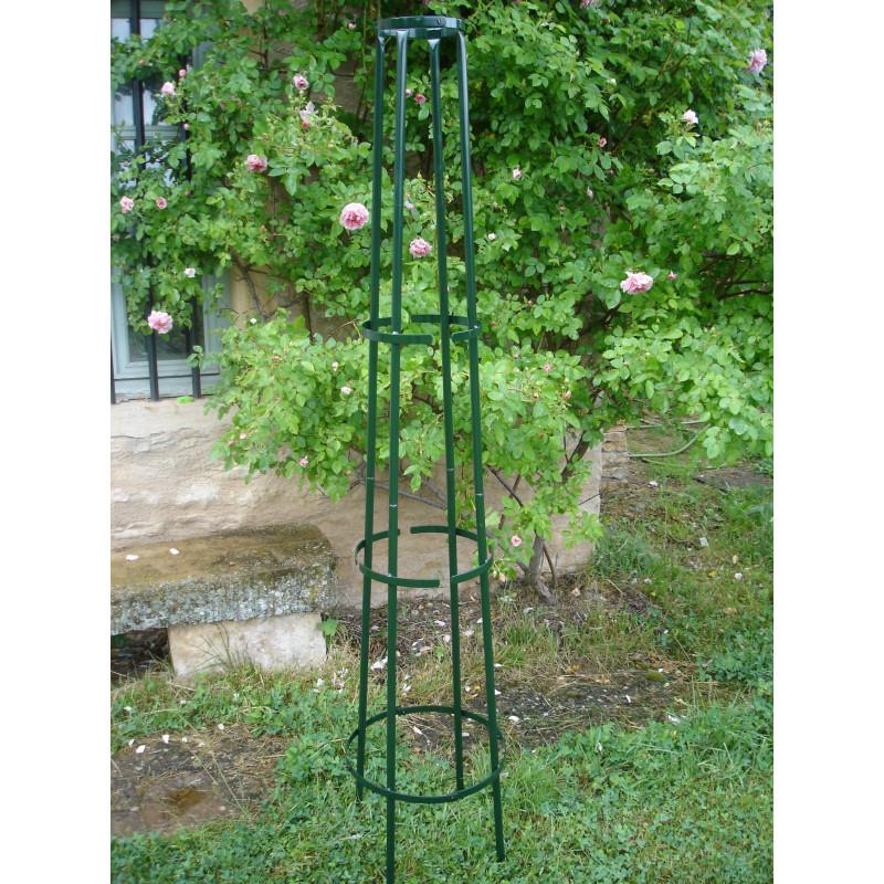 votre tuteur colonne corset en acier vert sign jardin et saisons. Black Bedroom Furniture Sets. Home Design Ideas