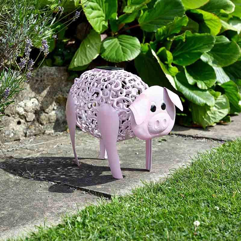 Cochon Lumineux Pour Objet Deco Chez Jardin Et Saisons