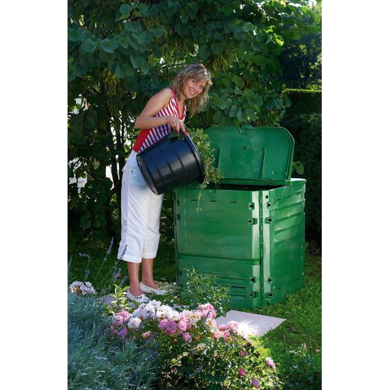 Composteur en plastique 400 litres vert