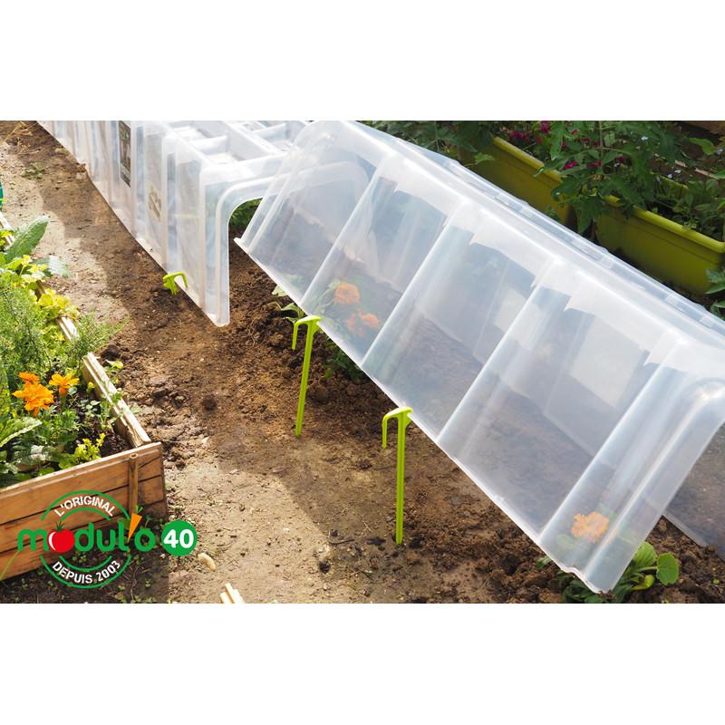 Trouvez votre piquet pour tunnel de for age chez jardin et saisons - Tunnel de forcage rigide pour jardin ...
