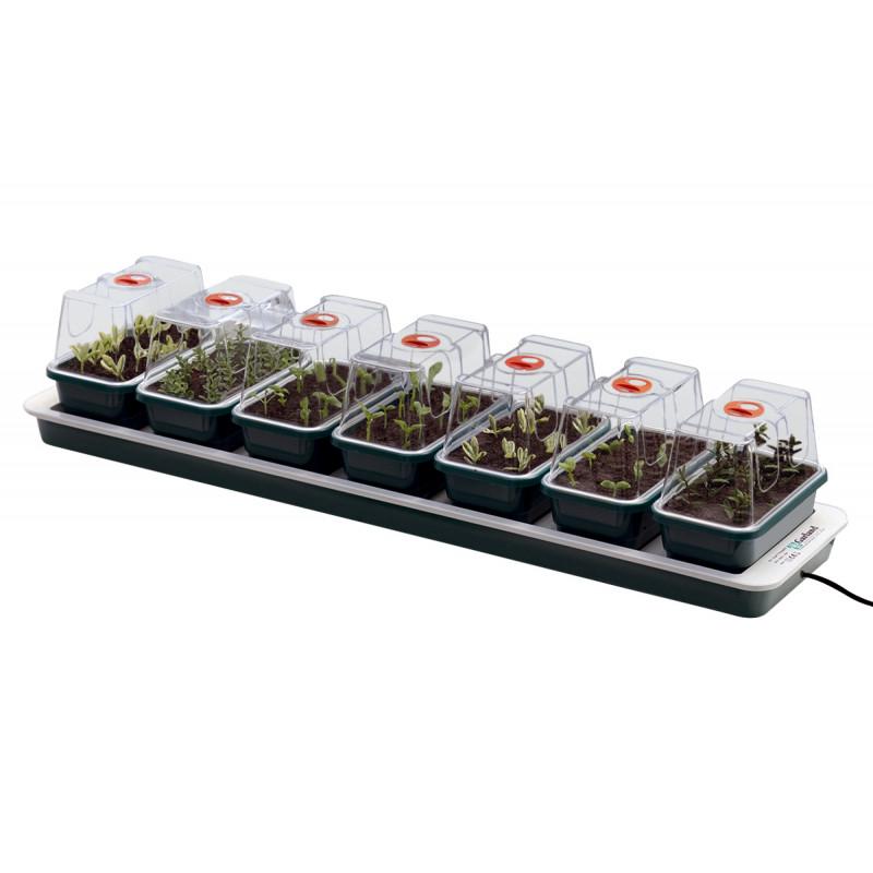 Jardin et Saisons - Mini serre chauffante pour semis