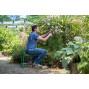 Tabouret agenouilloir de jardinage en métal