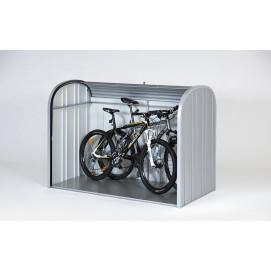 Coffre de rangement metal vélo et poubelle porte coulissante 2080 L