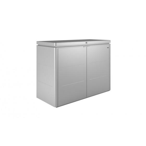 Audacieuse Coffre de rangement en métal poubelle 1150 L Biohort Jardin et Saisons HA-32