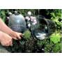 Cloche de jardin victorienne avec aération H 20 (les 3)