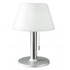 Lampe de table solaire 10 LED blanche