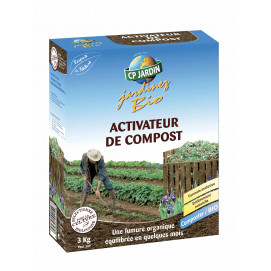 Activateur de compost naturel 3 kg