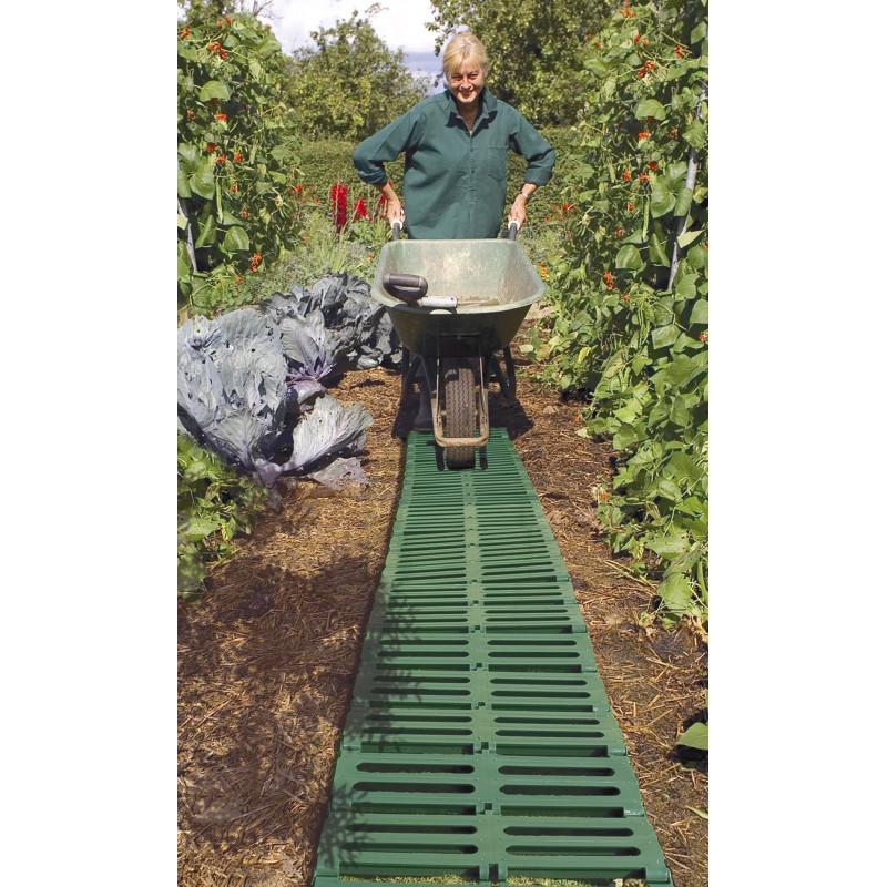 Agréable Allee De Jardin Potager #14: Chemin Potager En Plastique Recyclé 3 M